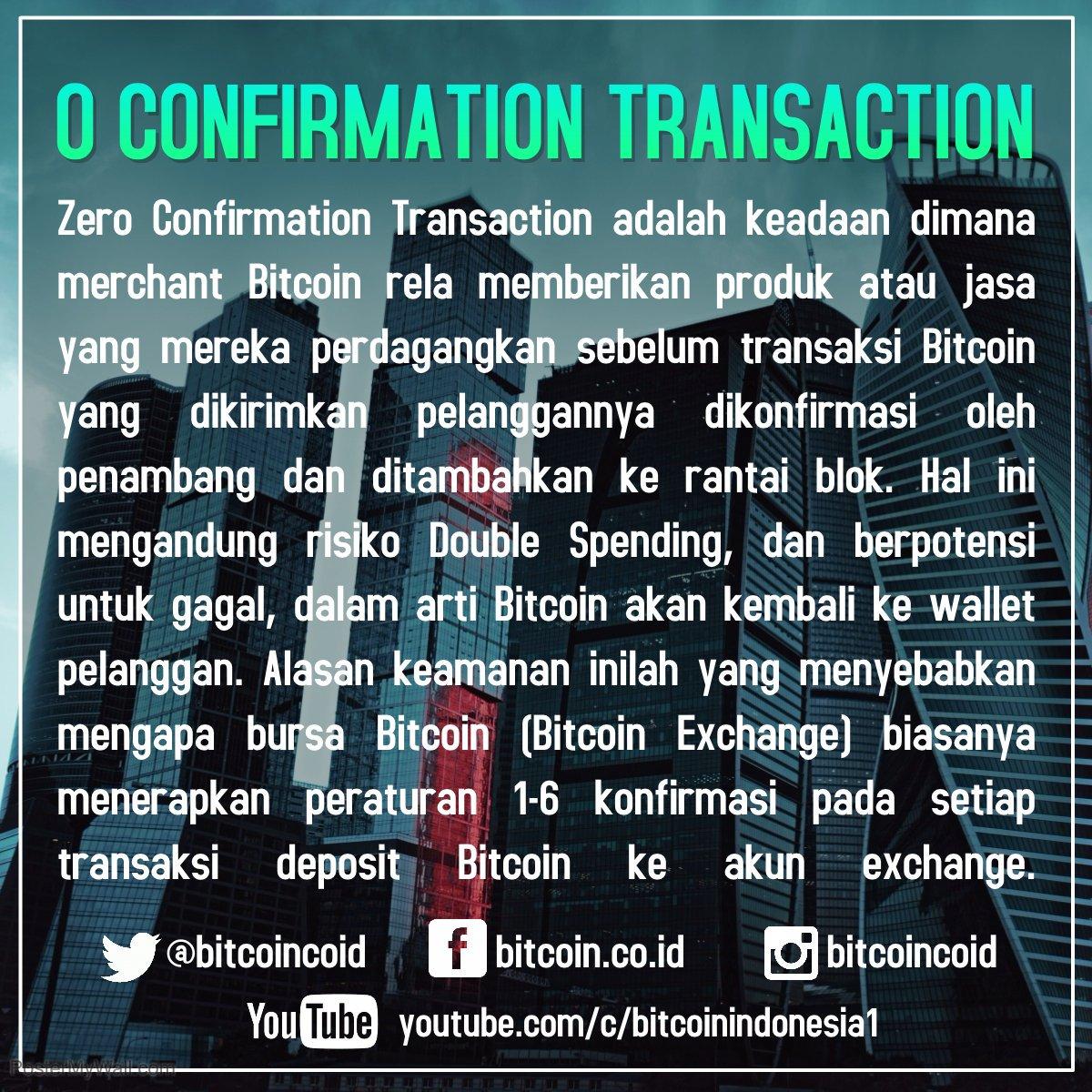 Zero-confirmation transaction